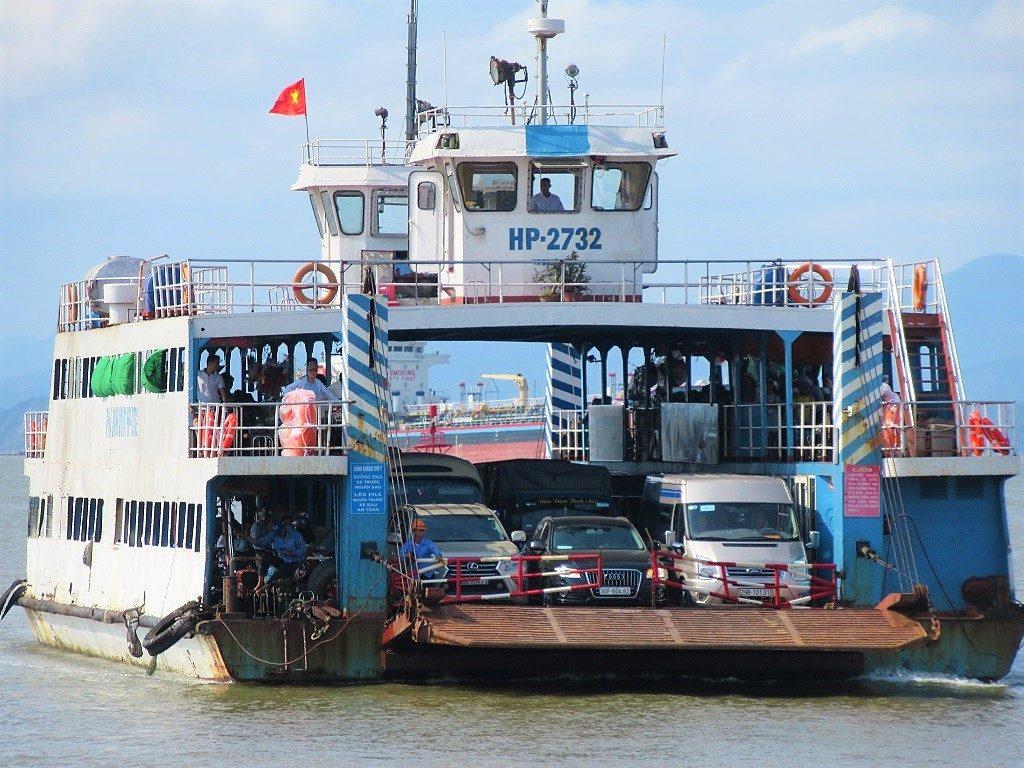 The Cat Hai-Cat Ba Island ferry, Vietnam