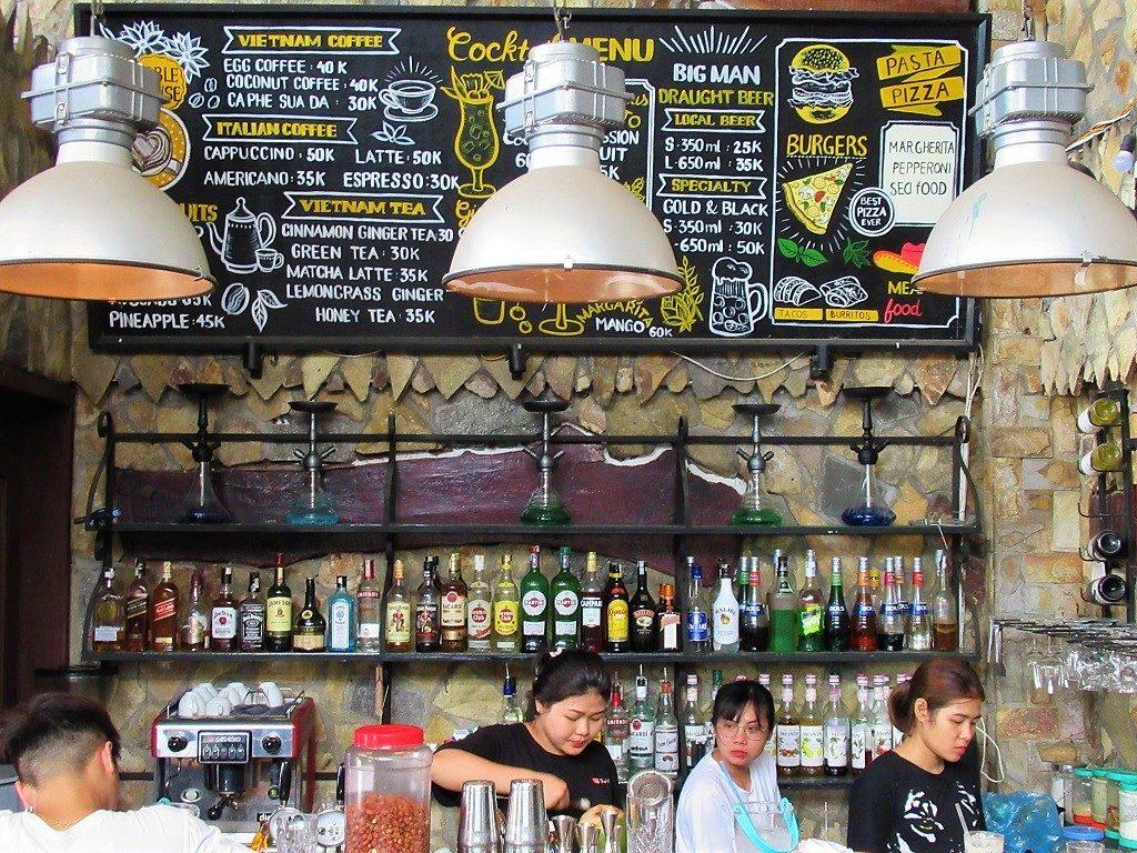 Big Man Bar, Cat Ba Island, Vietnam