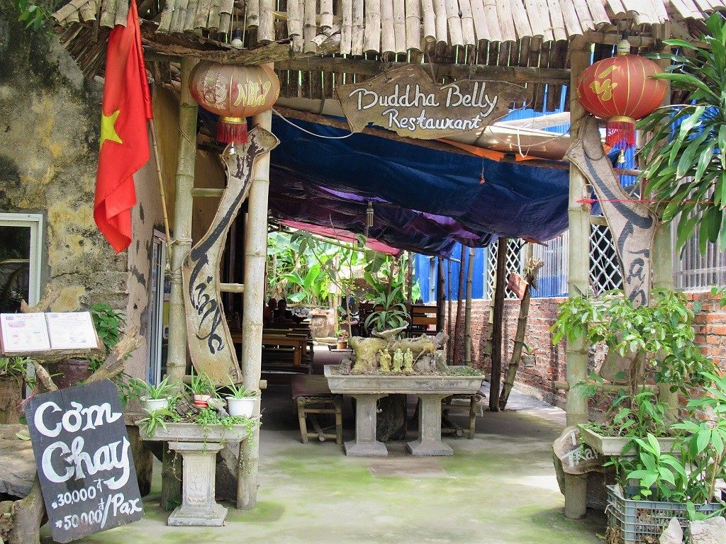 Buddha Belly vegetarian restaurant, Cat Ba Island, Vietnam