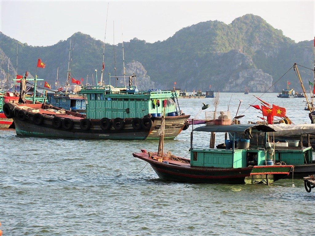 Ben Beo Port, Cat Ba Island, Vietnam