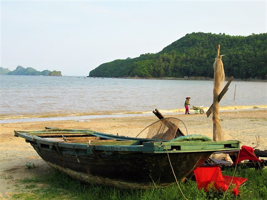 Woodstock Beach, Cat Ba Island, Vietnam