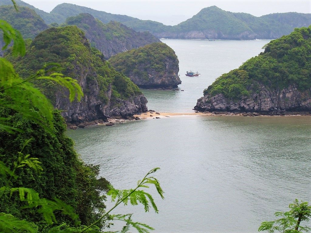 View from Cannon Fort, Cat Ba Island, Vietnam