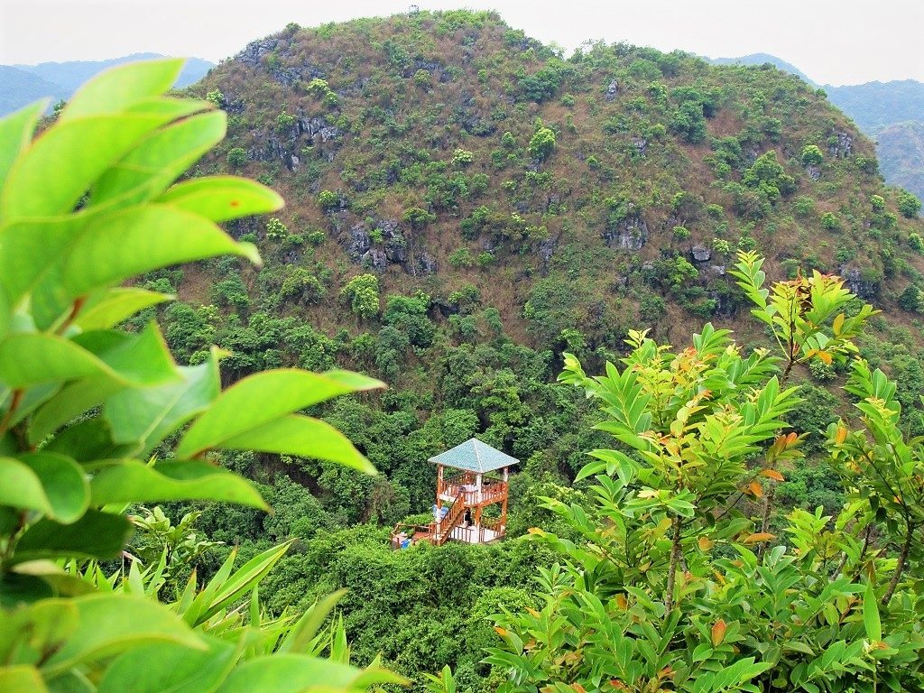 View from Ngu Lam Peak, Cat Ba Island National Park, Vietnam
