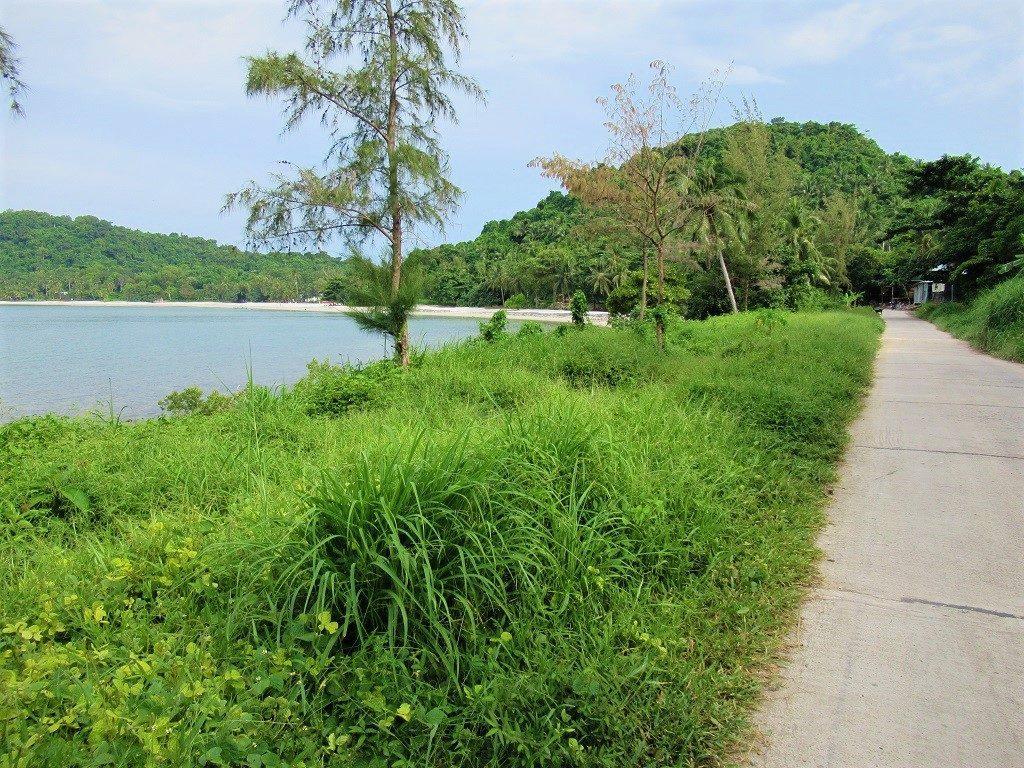 Coastal road, Pirate Island, Dao Hai Tac, Vietnam