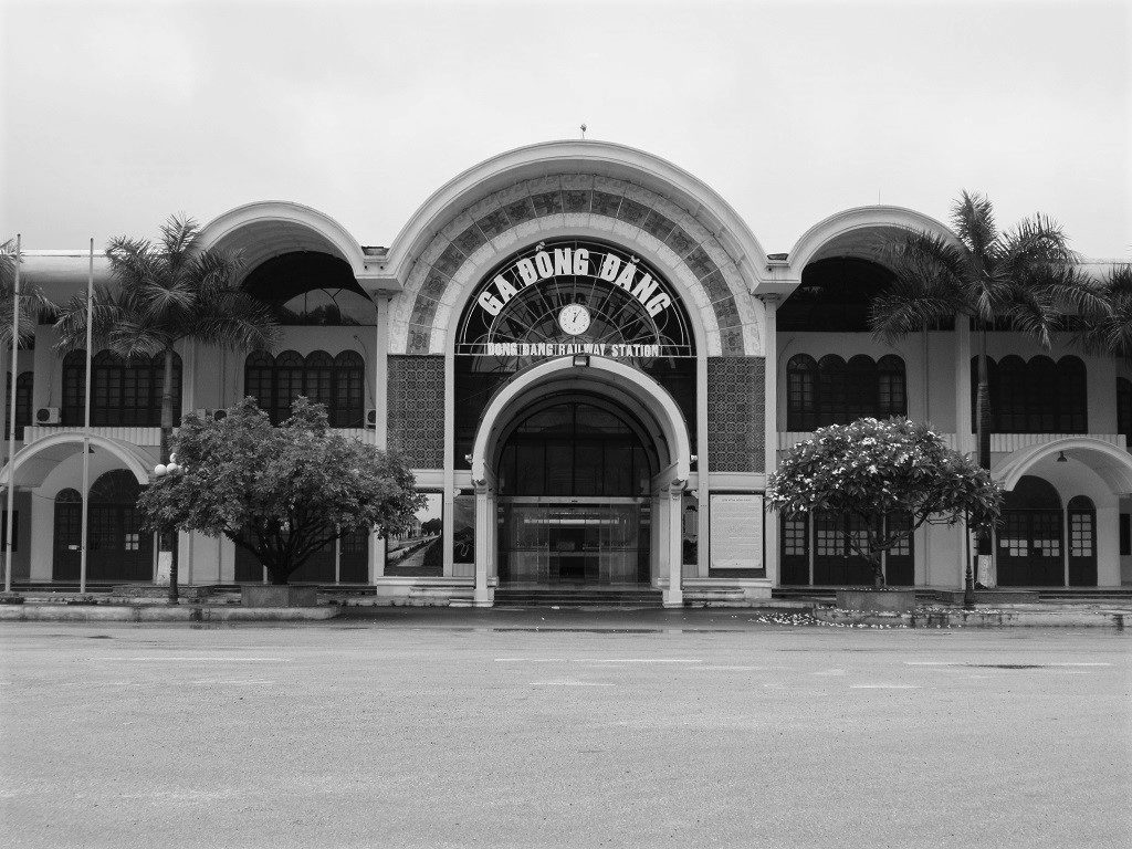Dong Dang train station, Vietnam