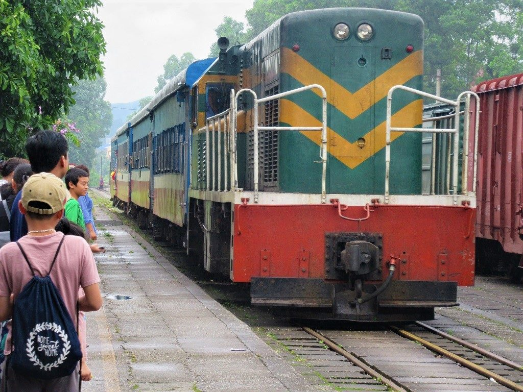 The Hanoi-Lang Son-Dong Dang train, Vietnam