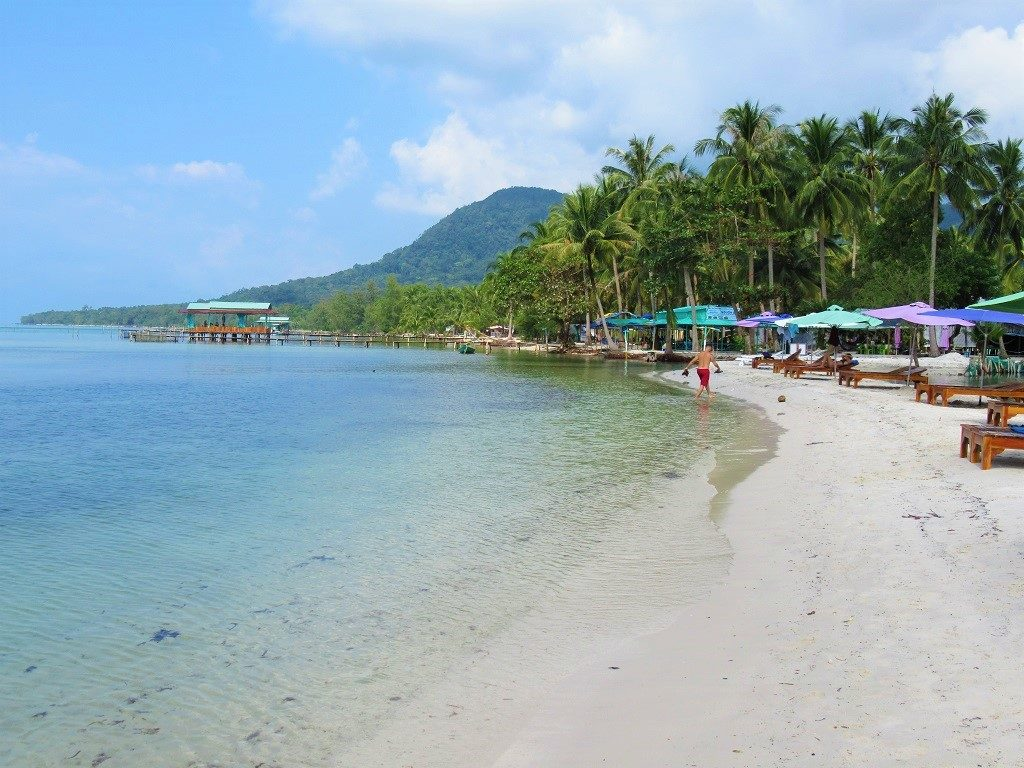 Starfish Beach (Rach Vem), north coast, Phu Quoc Island