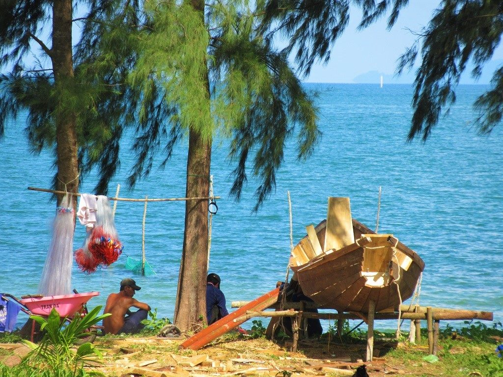 The east coast of Phu Quoc Island, Vietnam