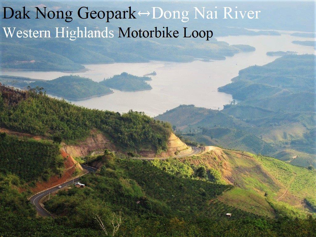 Dak Nong Geopark-Dong Nai River Motorbike Loop, Vietnam