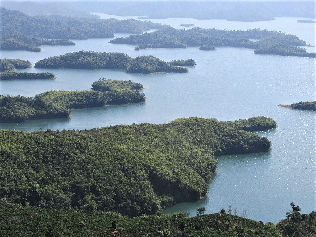 Ta Dung Lake, Dak Nong Province, Vietnam