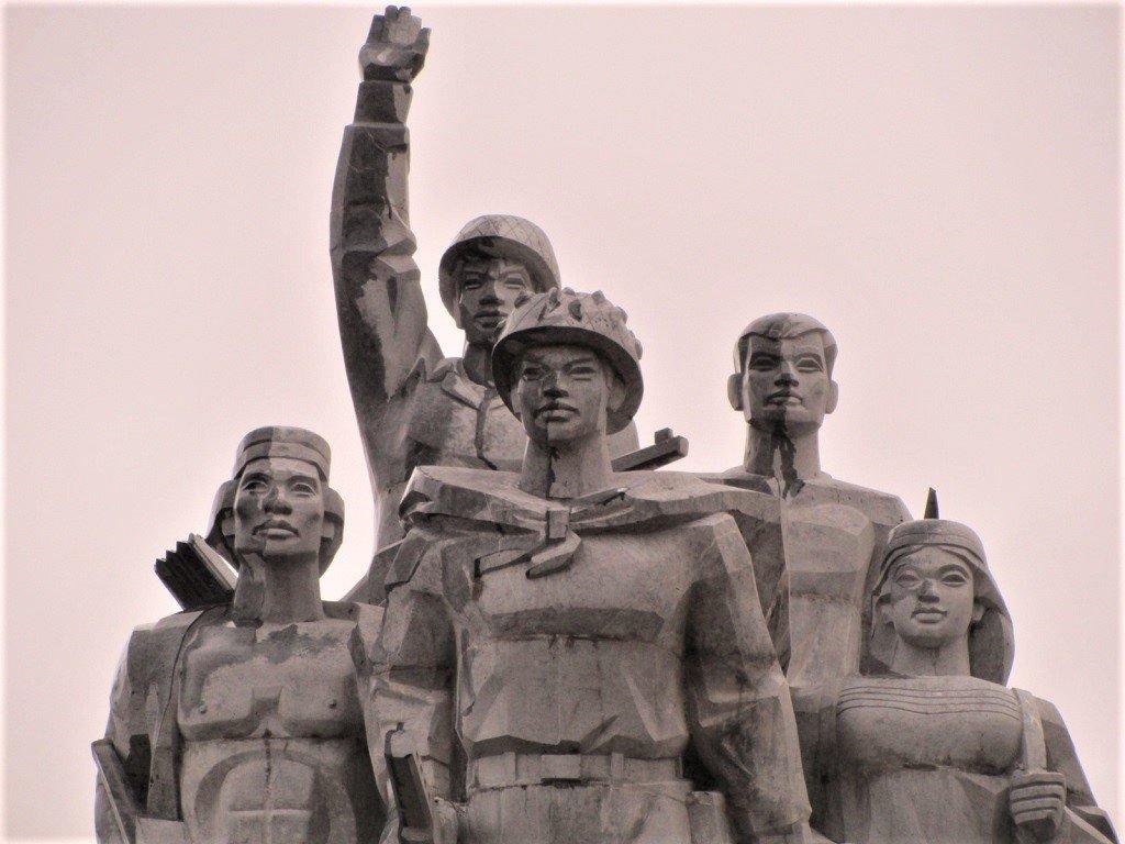 Monument on The Road East of the Long Mountains (Đường Trường Sơn Đông), Vietnam)