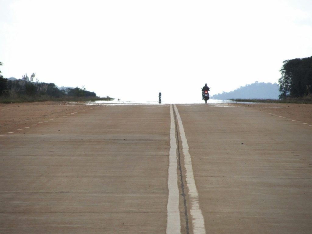 The 'airstrip' on the Truong Son Dong Road, near K'Bang, Vietnam