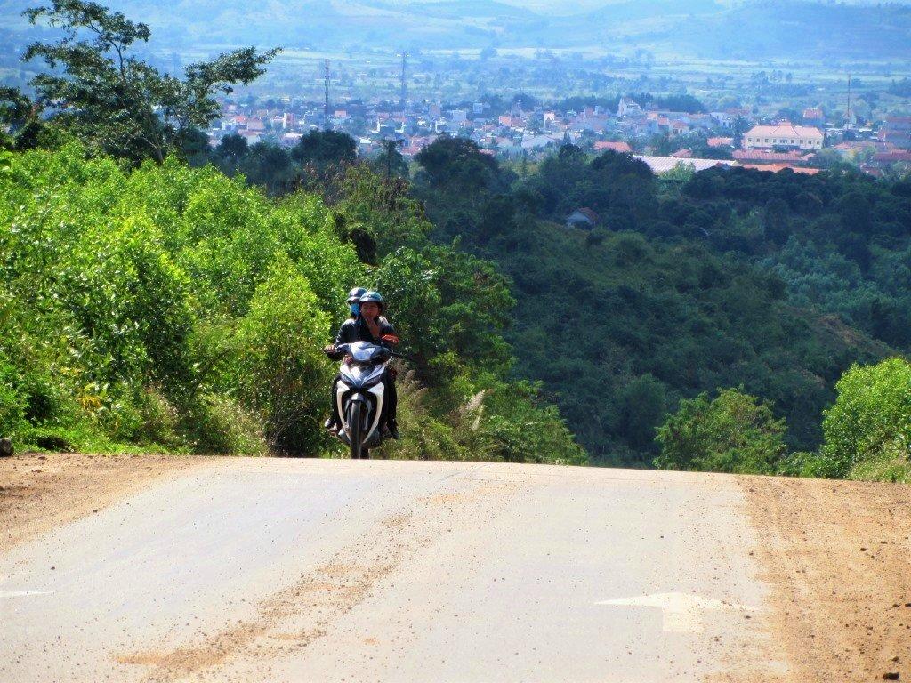 TheK'Bang on the Trường Sơn Đông Road, Vietnam)