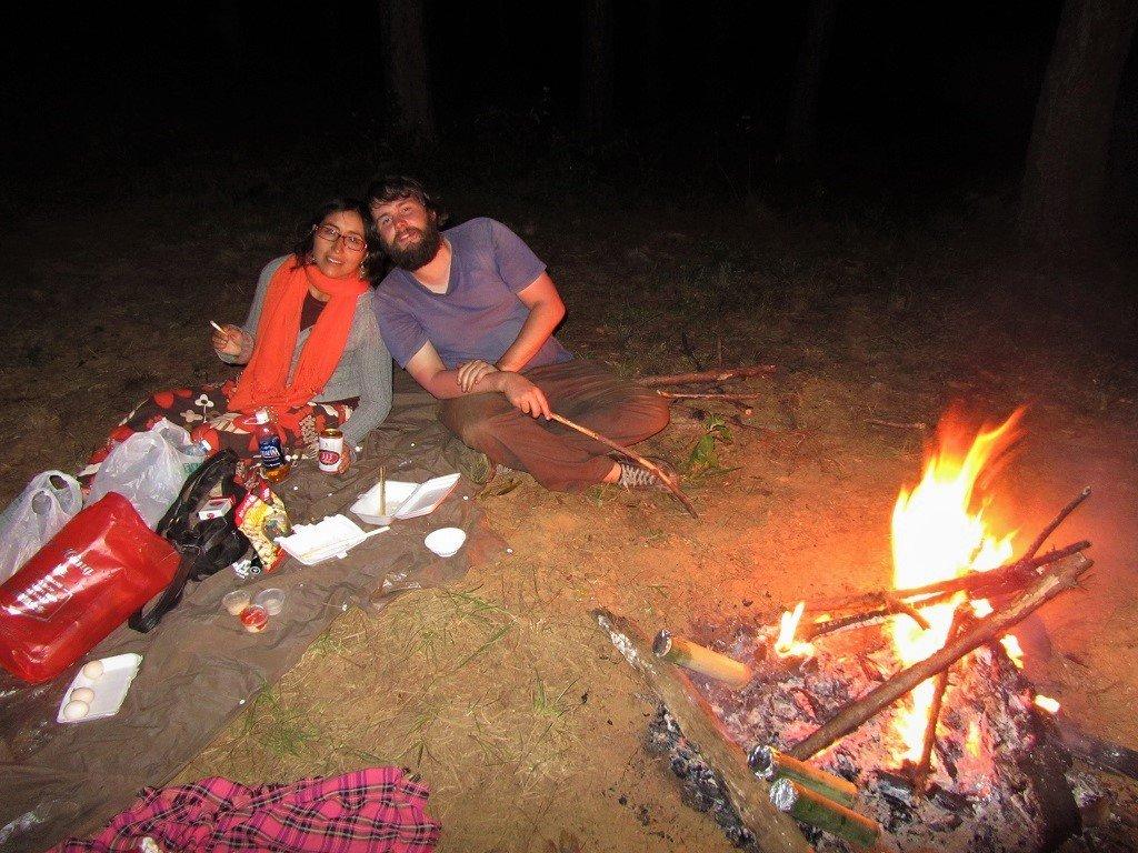 Around the campfire, Dalat, Vietnam