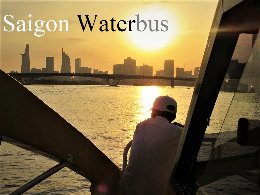 Saigon Waterbus, Ho Chi Minh City, Vietnam
