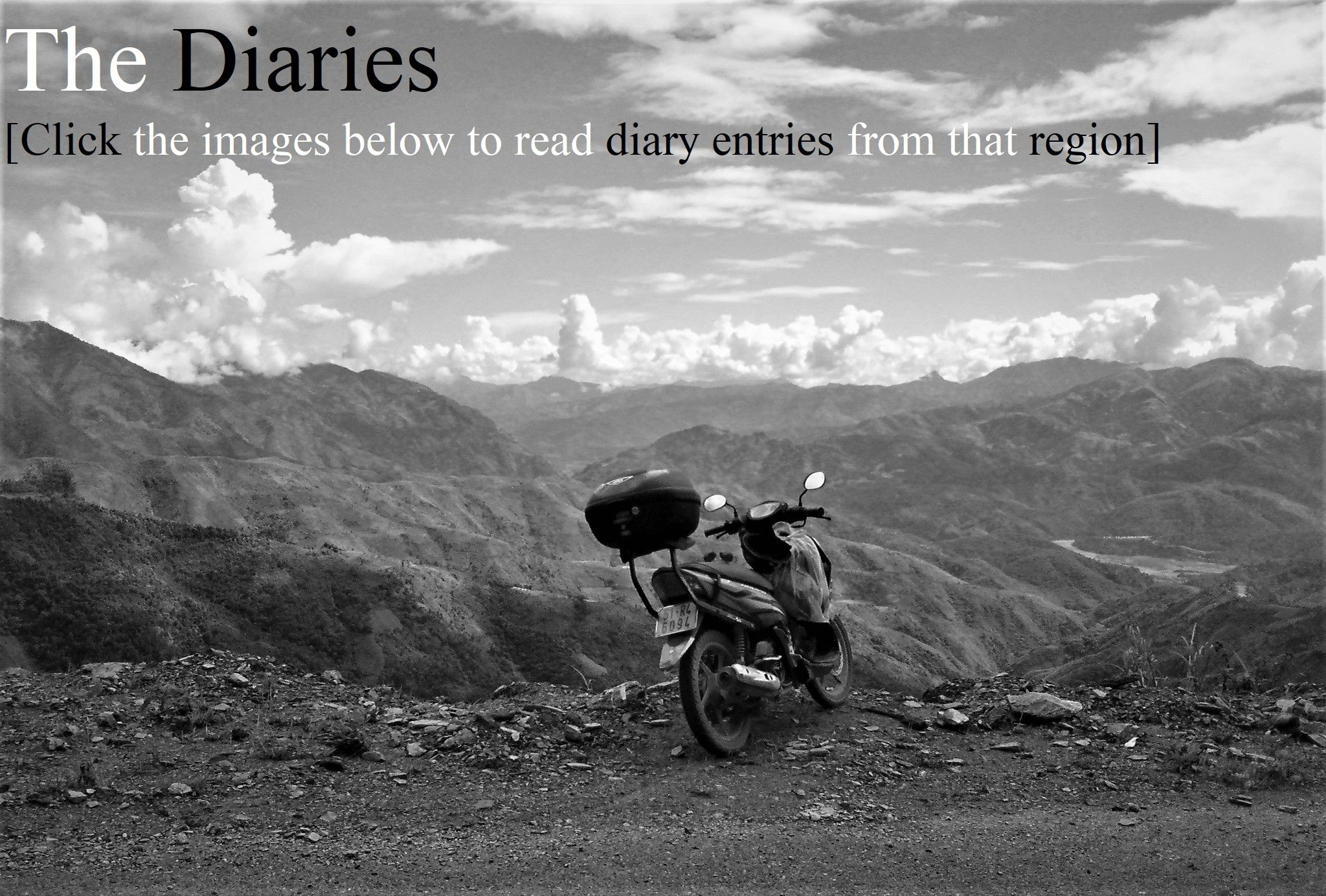 Motorbike Chronicles: Diary, Map & Film of a Vietnam Road Trip
