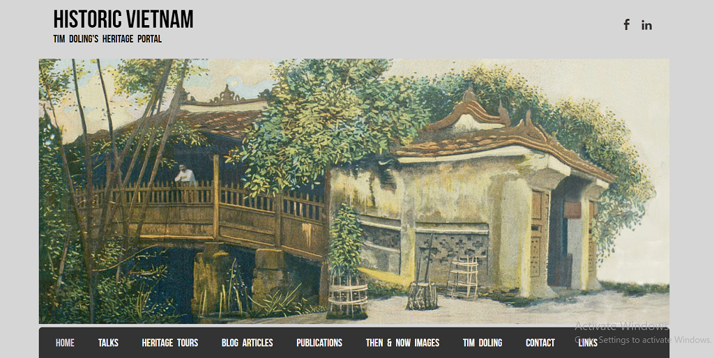 Historic Vietnam homepage