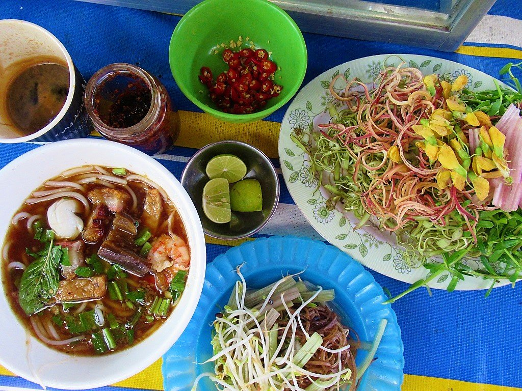 Food in the Time of Corona, Last Meals before Lock-Down, Vietnam