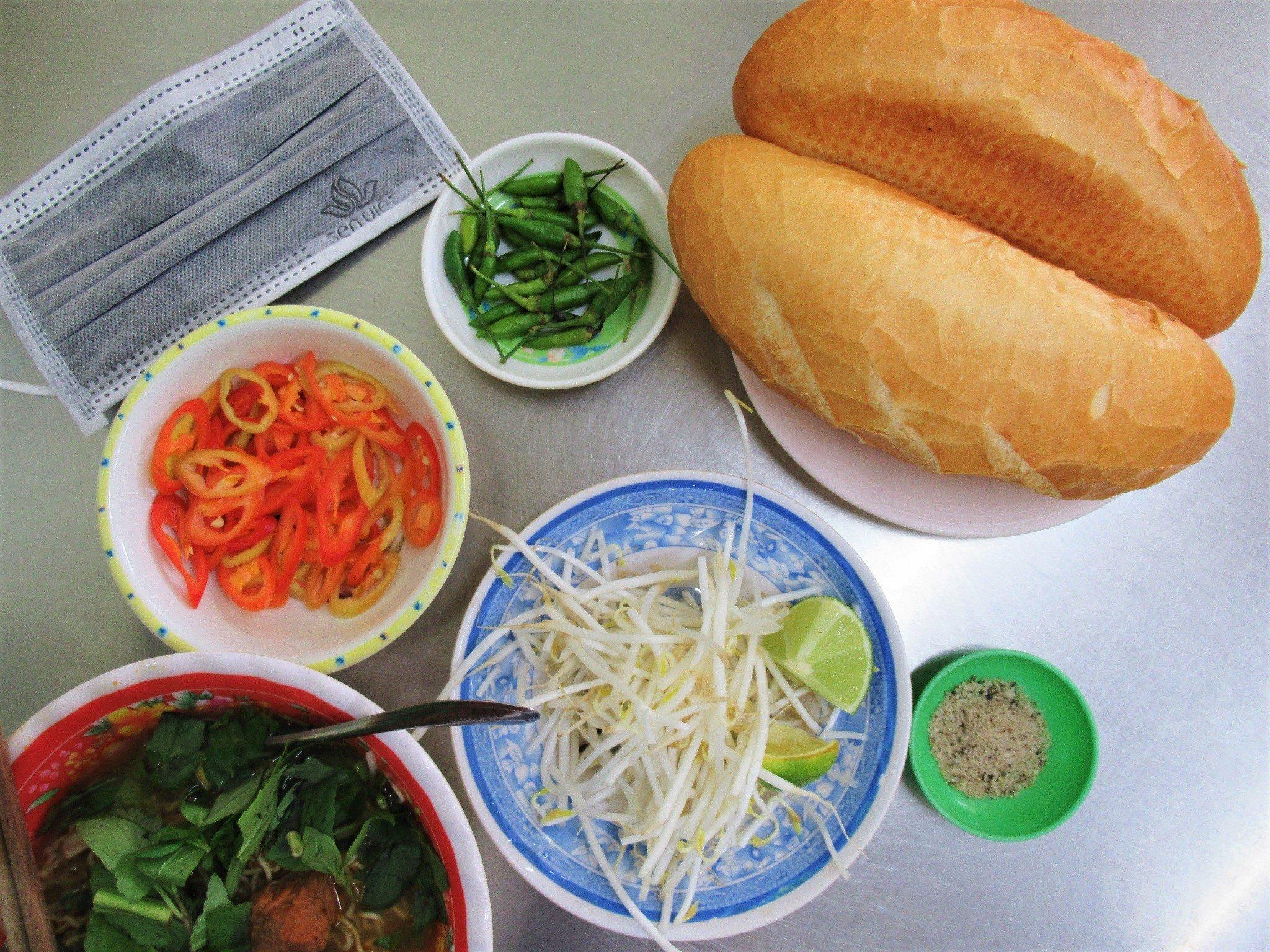 Bánh mì bò kho, aromatic beef stew, Vietnam