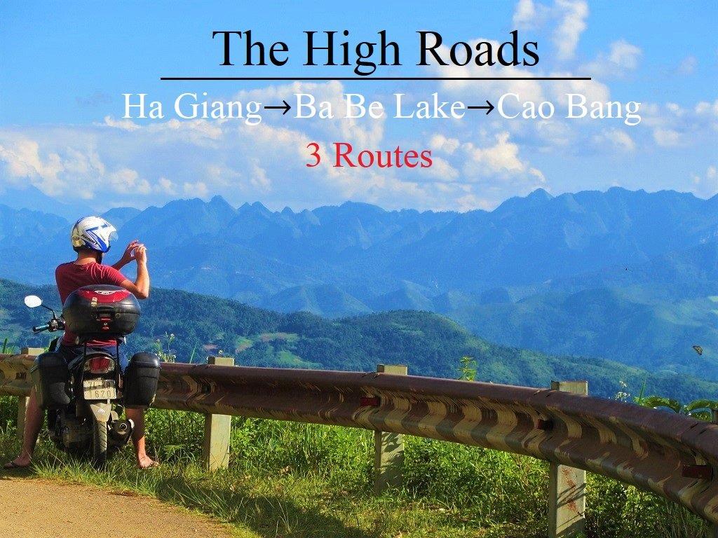 Ha Giang, Ba Be Lake, Cao Bang by motorbike, Vietnam