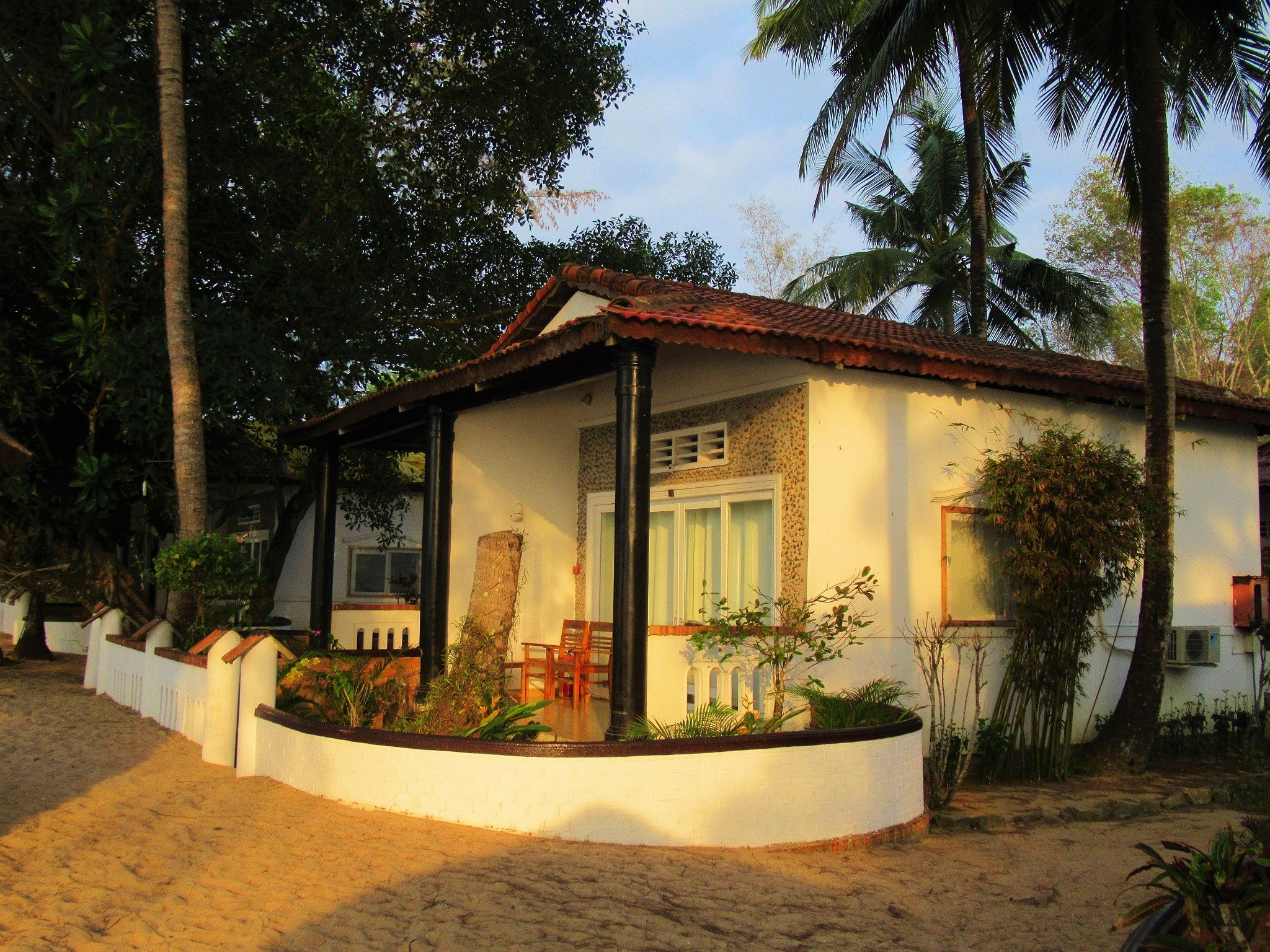 Bamboo Cottages, Solar-powered beach resort, Phu Quoc Island, Vietnam