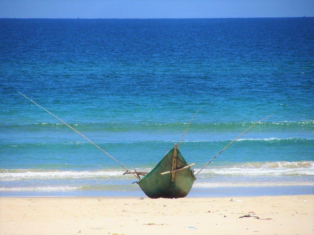 Tam Thanh Beach, Quang Nam Province, Vietnam
