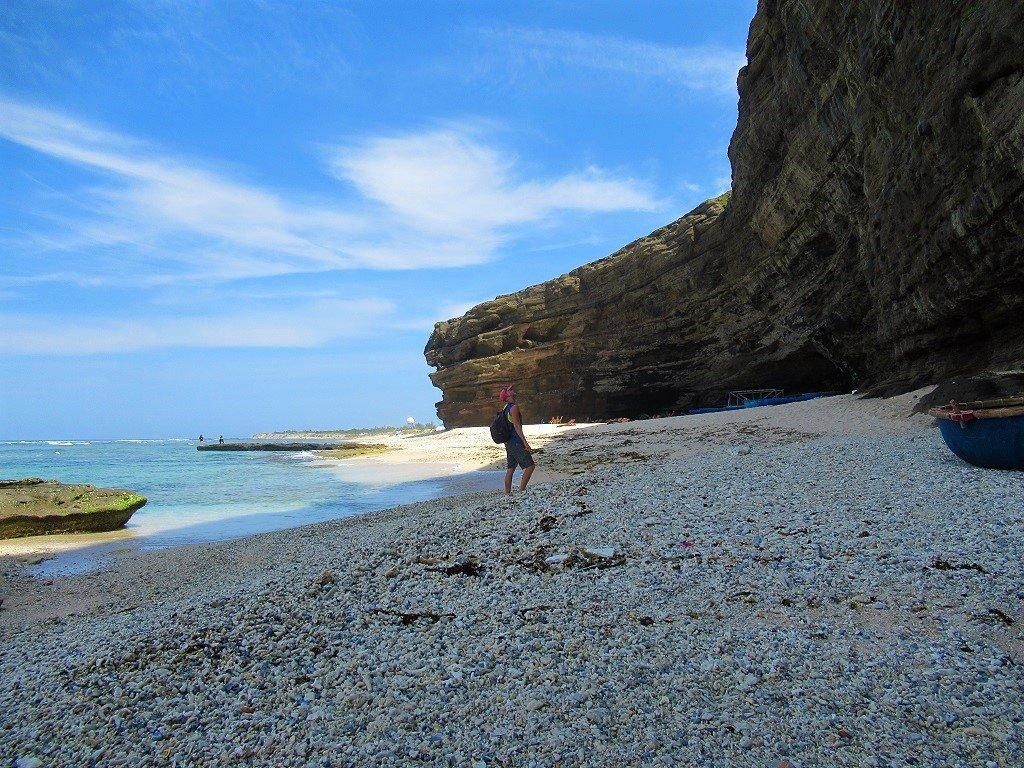 Hang Cau Beach & Cliffs, Ly Son Island, Vietnam