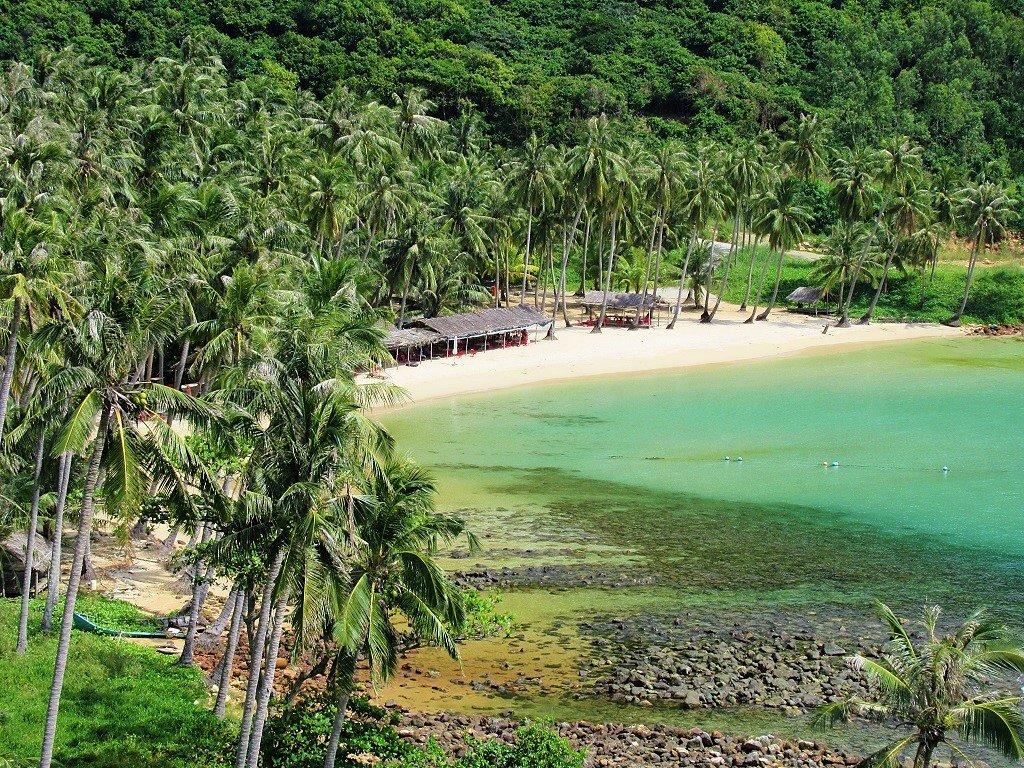 Bai Cay Men Beach, Nam Du Islands, Vietnam