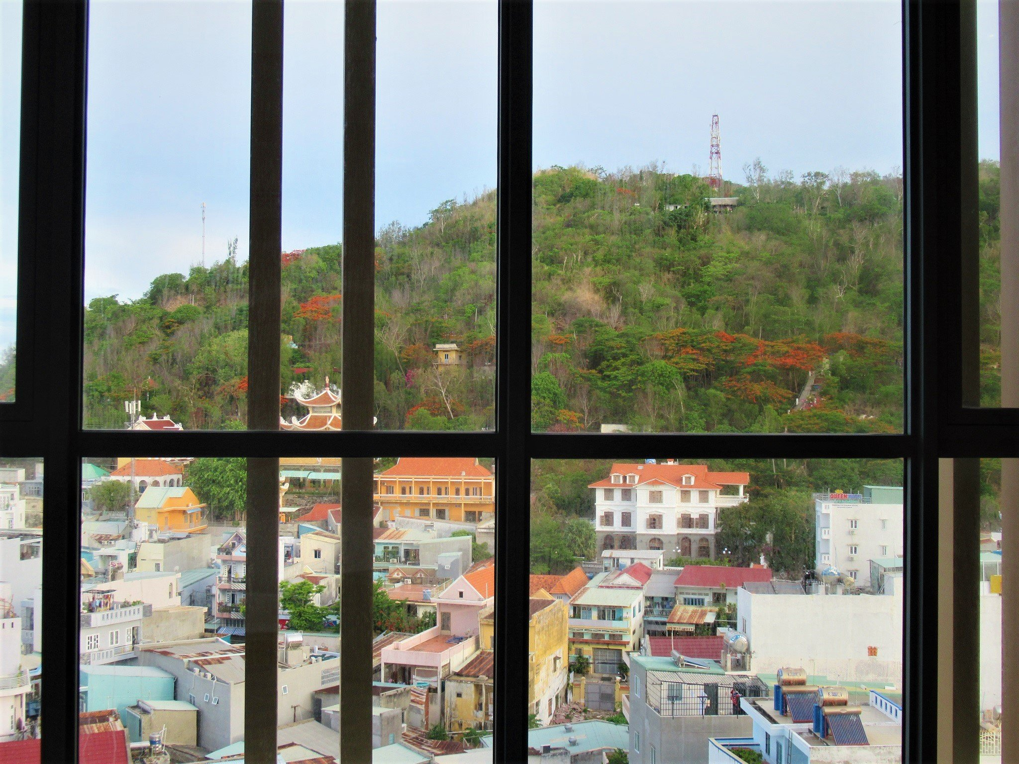 View from guest room at Fusion Suites Vung Tau
