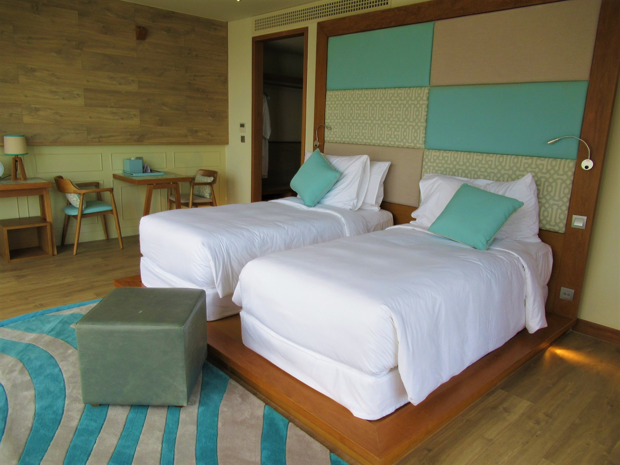 Guest room at Fusion Suites Vung Tau