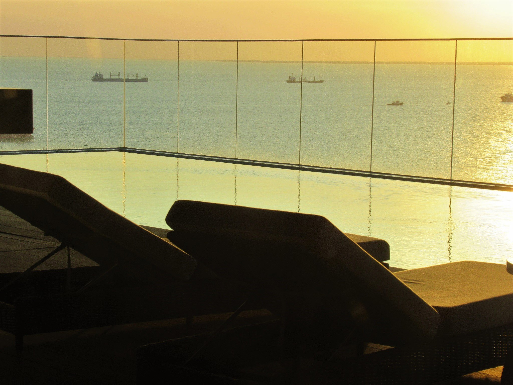Infinity 'sky pool' at Fusion Suites Vung Tau