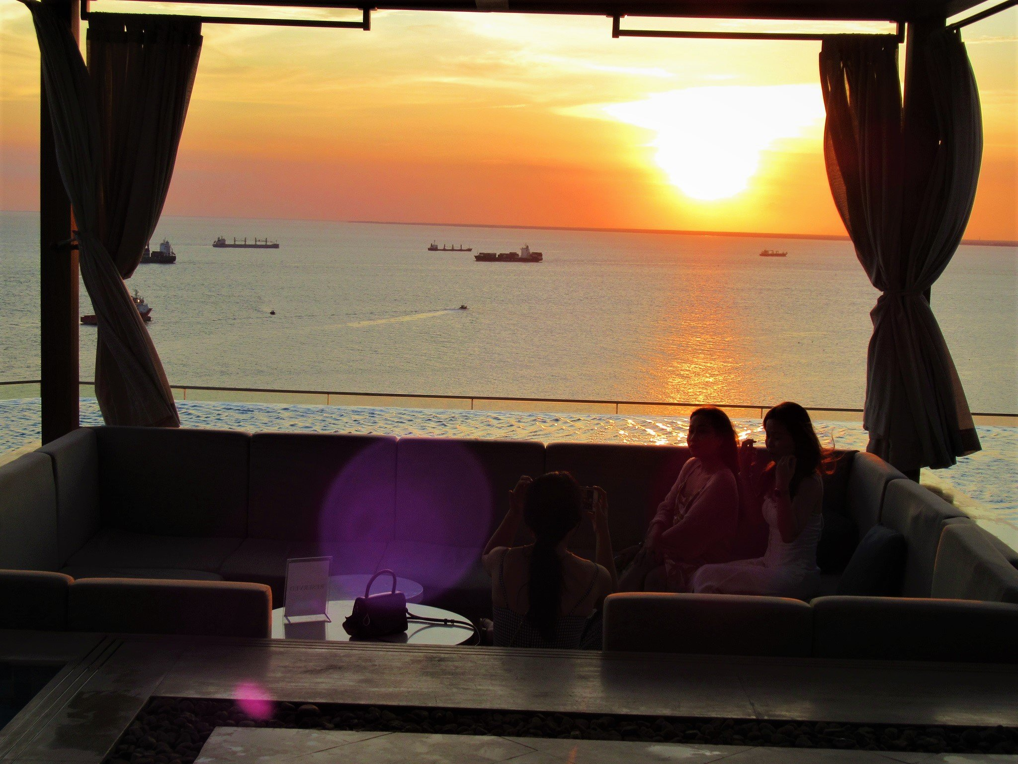 Breeze Bar on the rooftop at Fusion Suites Vung Tau