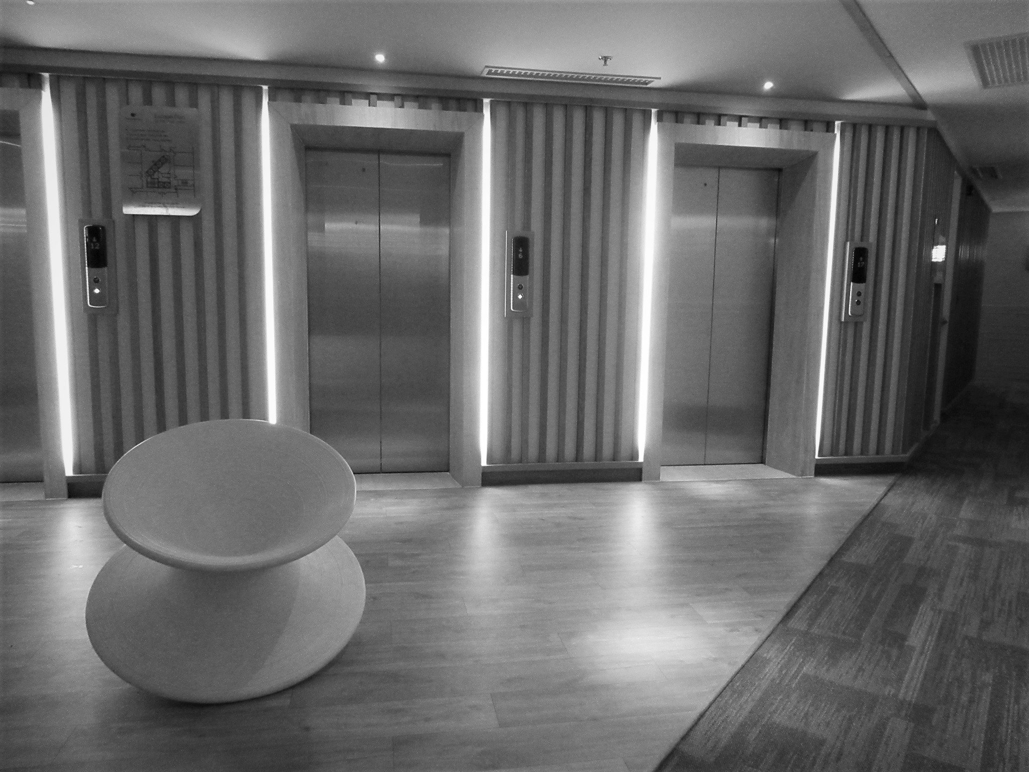 Elevator lobby, Fusion Suites Vung Tau
