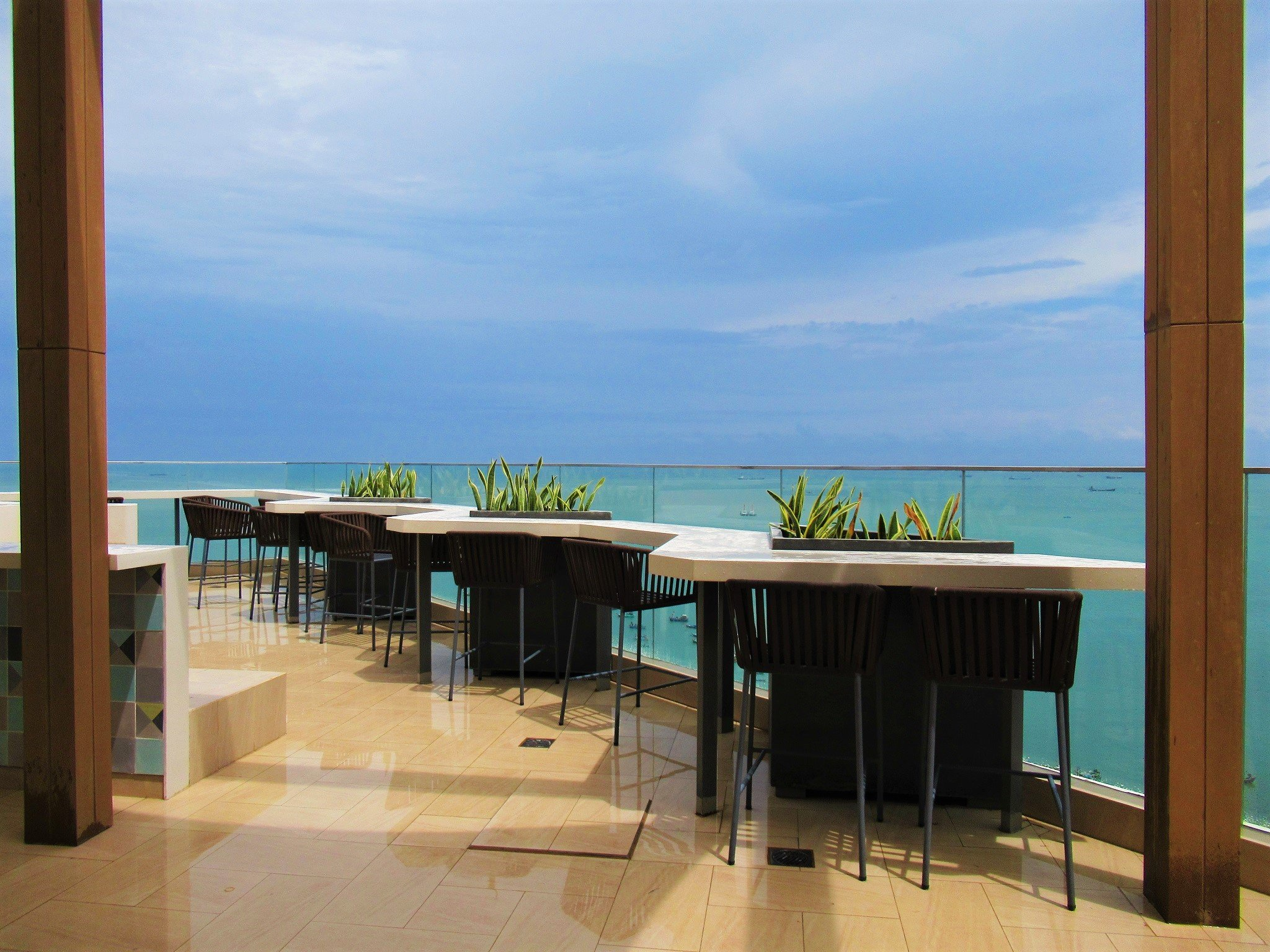 Breeze rooftop bar at Fusion Suites Vung Tau