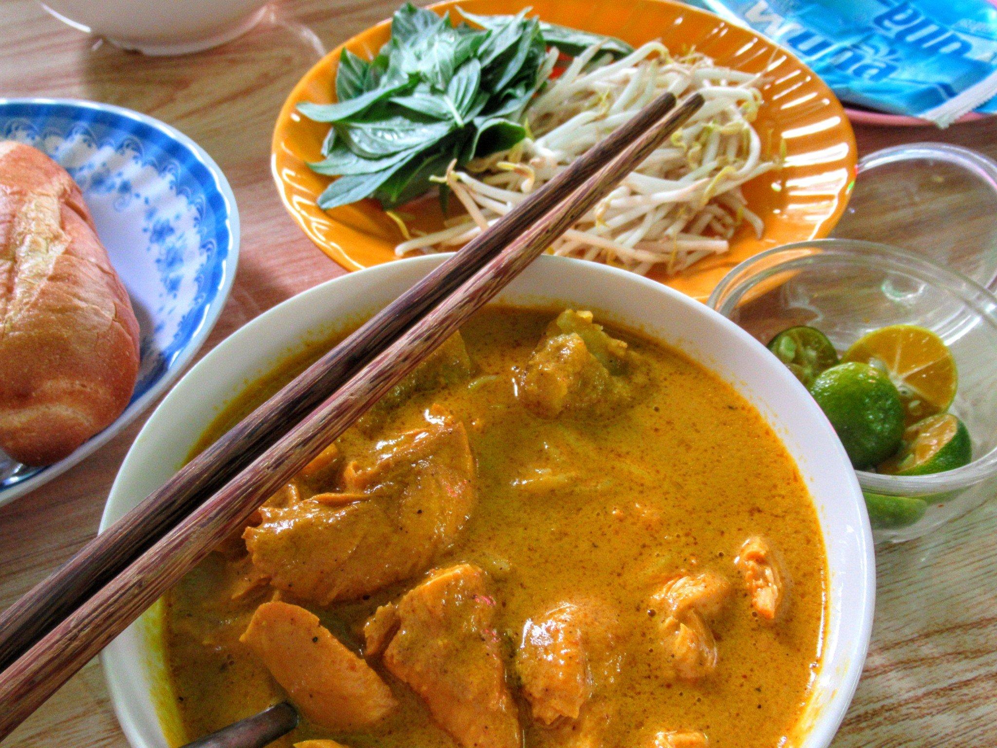 Ngoc Han curry house, Saigon, Ho Chi Minh City, Vietnam
