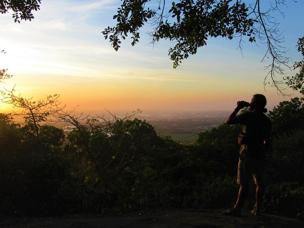 Last sunset of 2019, Nui Dinh Mountain, Vietnam