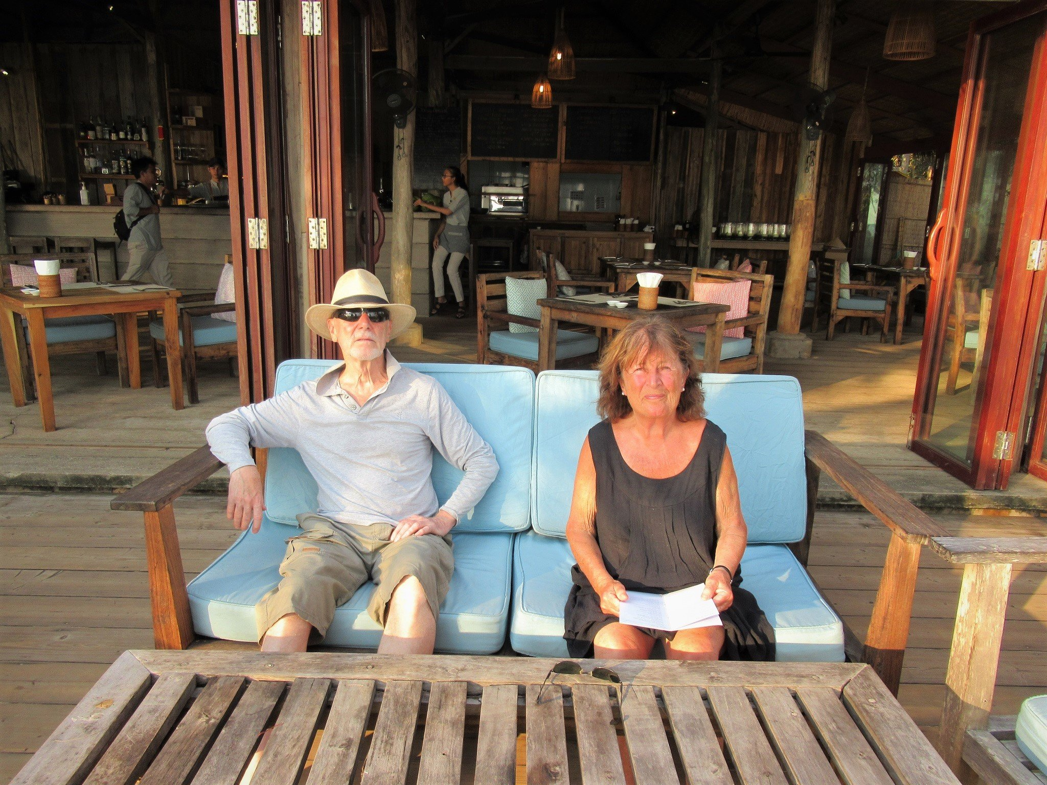 My parents on Phu Quoc Island, Vietnam