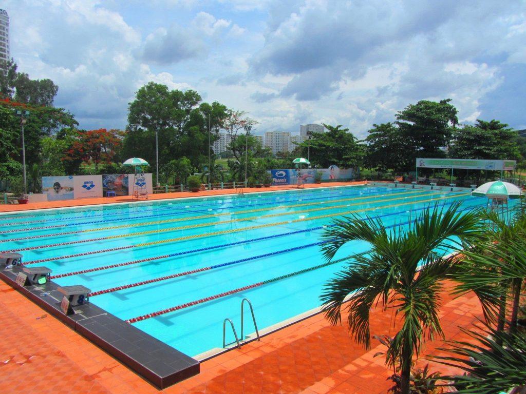 Saigon's Public Swimming Pools
