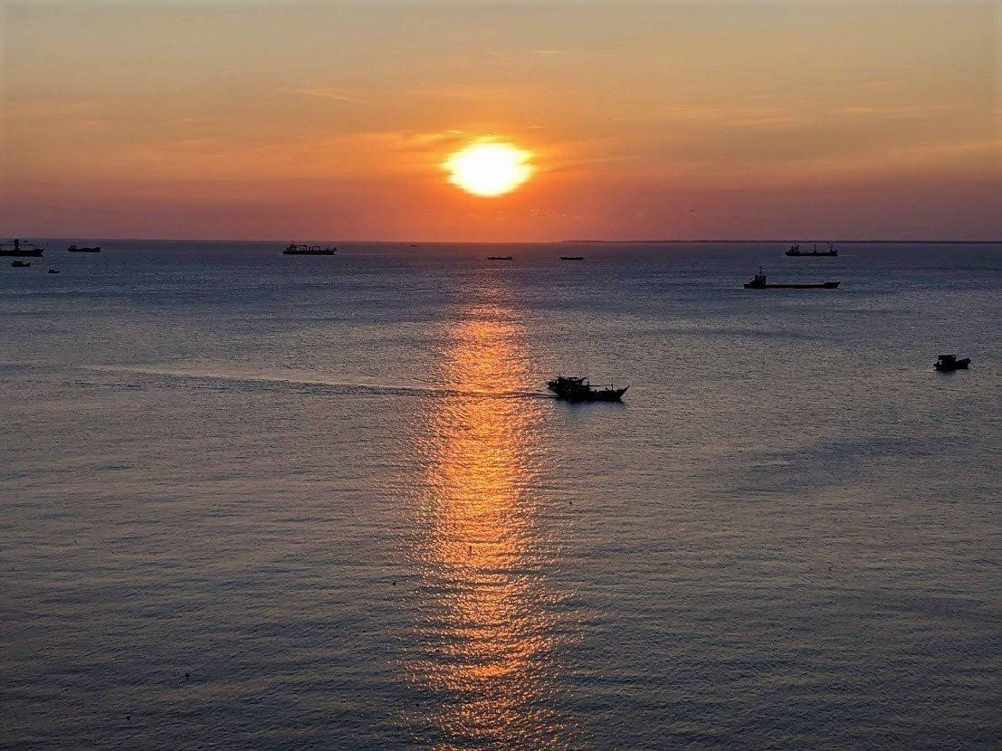 Sunset, Vung Tau, Vietnam