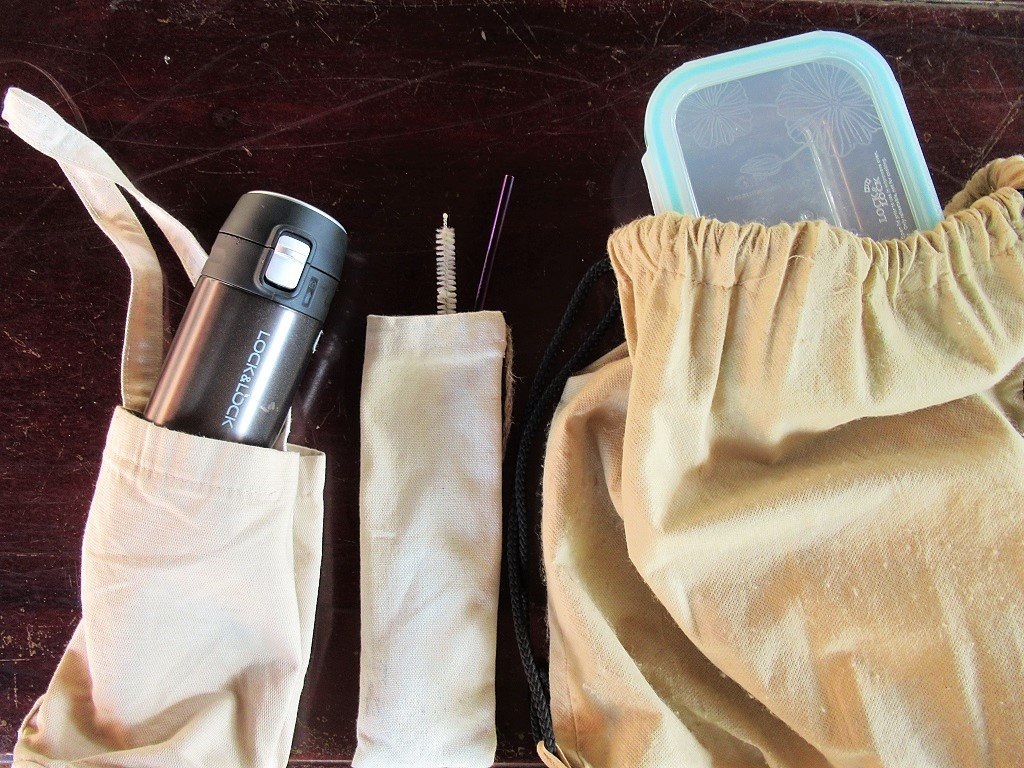 Reusable alternatives to single-use items