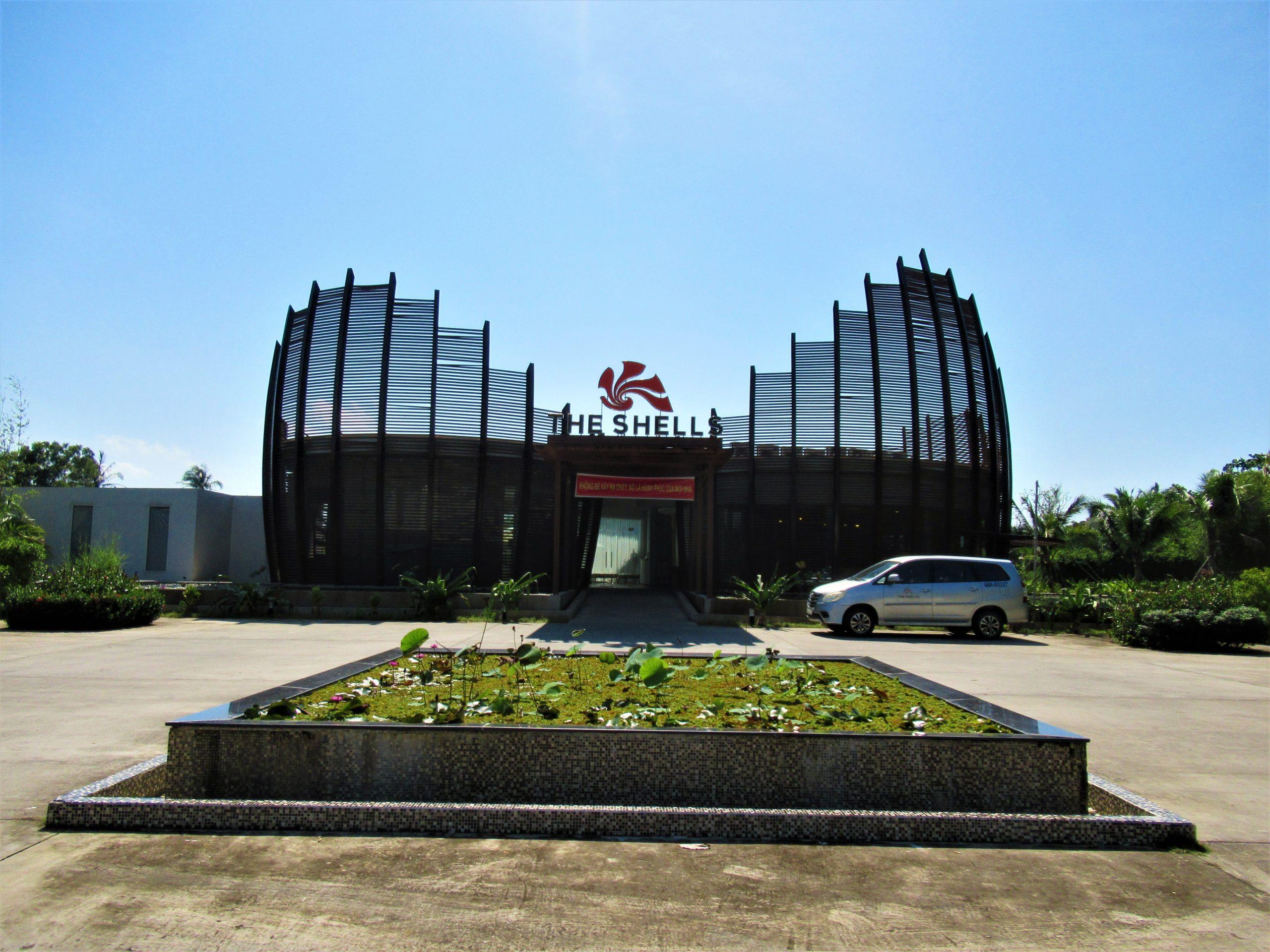 Entrance building, The Shells Resort, Phu Quoc Island, Vietnam