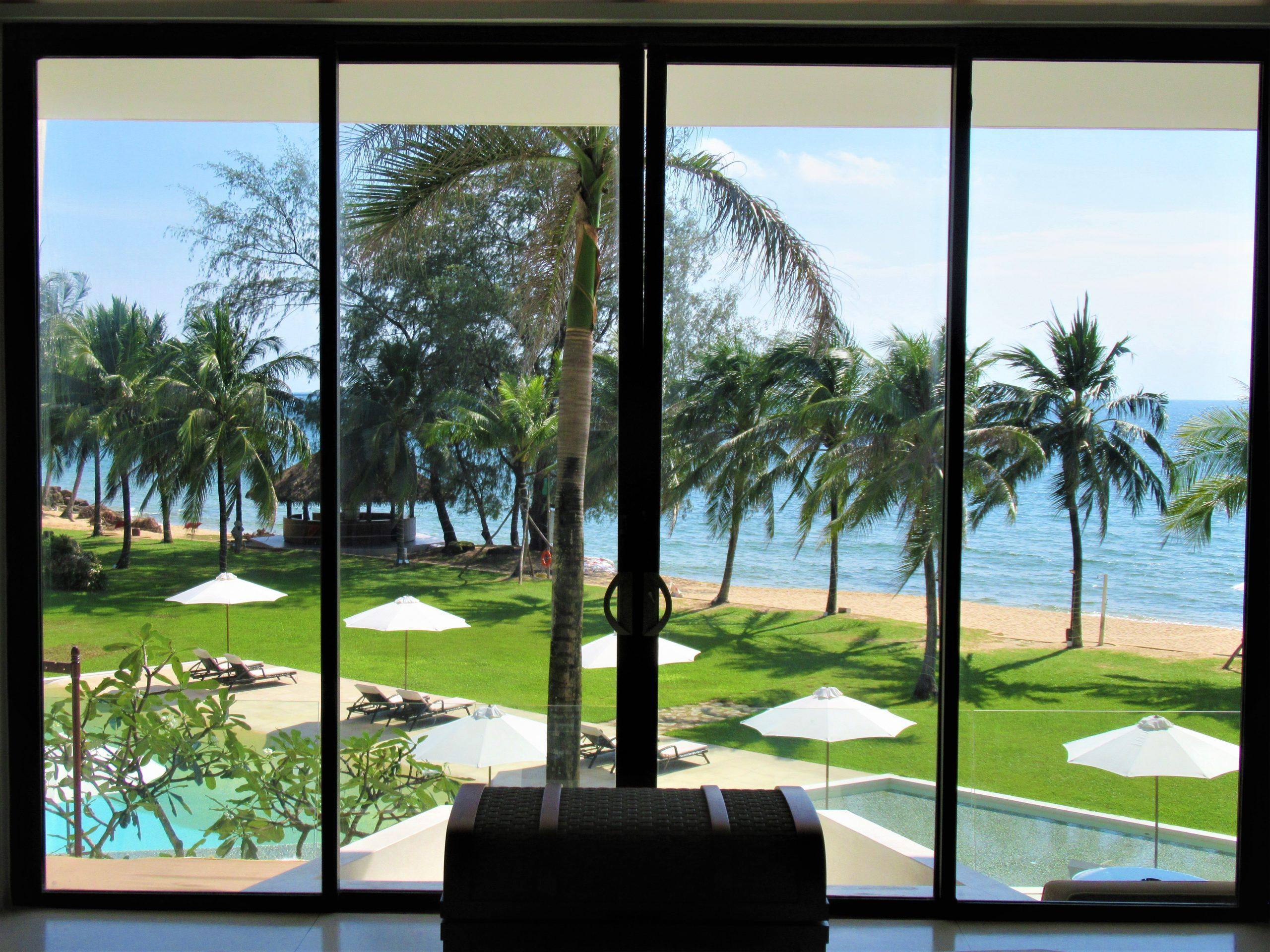 Guest room in main building, The Shells Resort, Phu Quoc Island, Vietnam