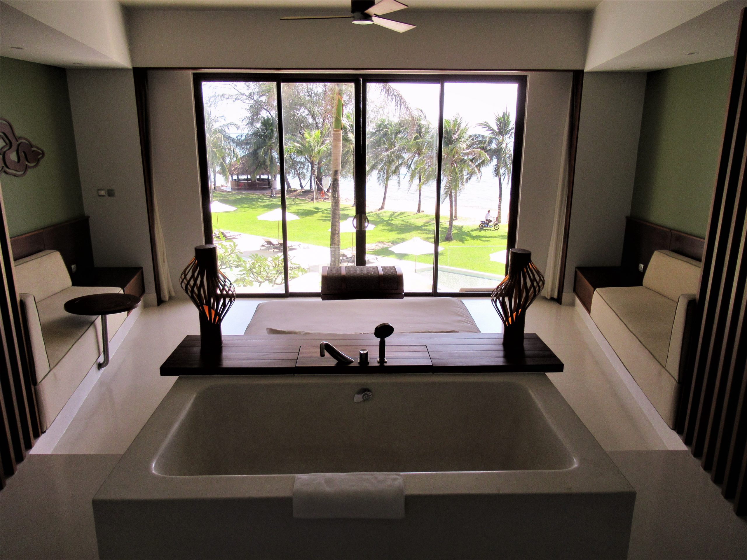 Guest room in main structure, The Shells Resort, Phu Quoc Island, Vietnam