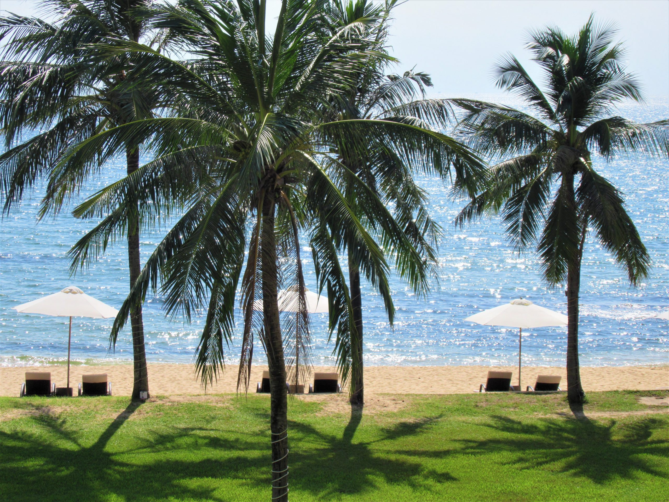Private beach, The Shells Resort, Phu Quoc Island, Vietnam