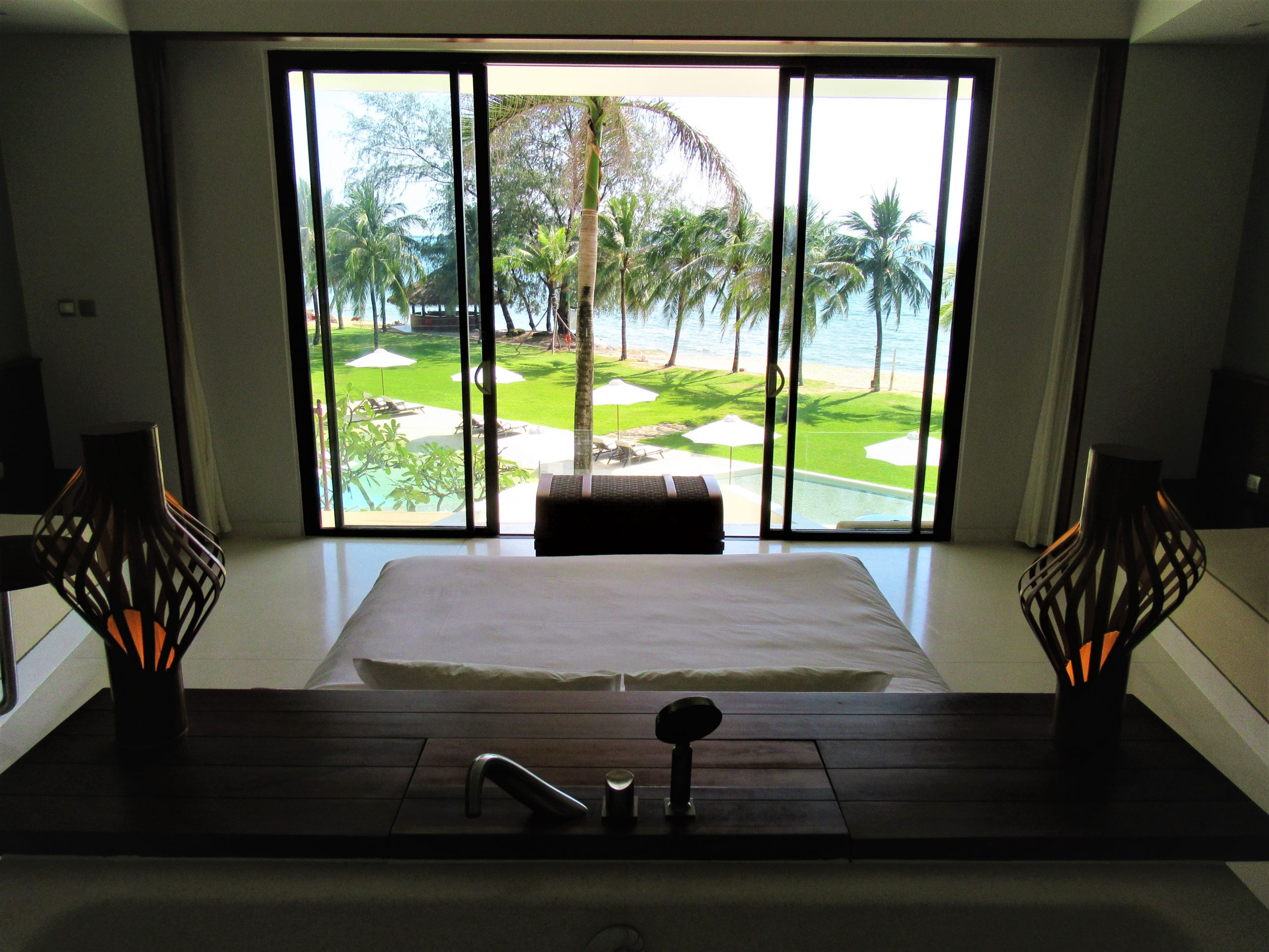 Guest room in main building, The Shells Resort, Phu Quoc Island, Vietnam