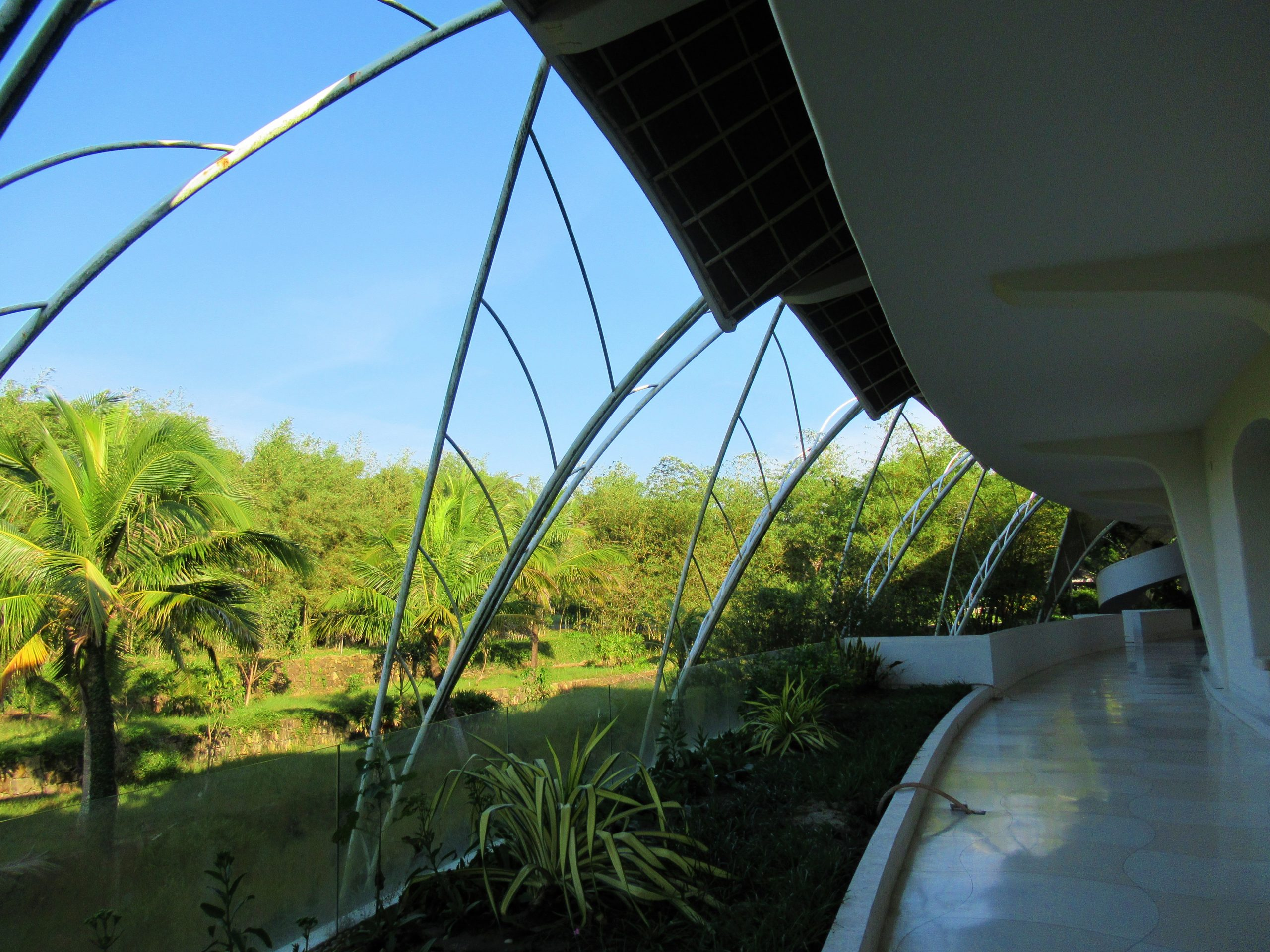 Back of main guest room structure, The Shells Resort, Phu Quoc Island, Vietnam