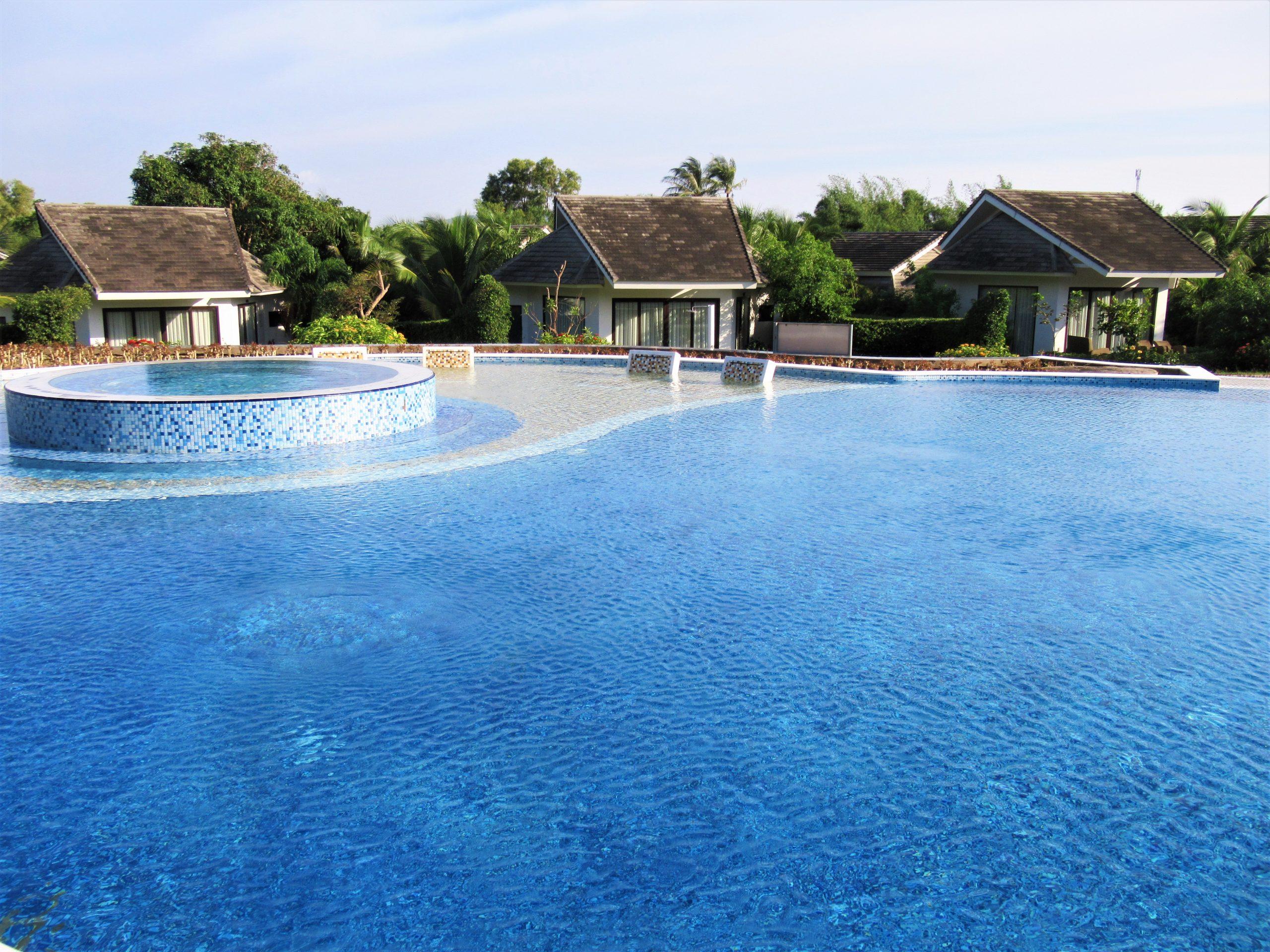 Private villas, The Shells Resort, Phu Quoc Island, Vietnam