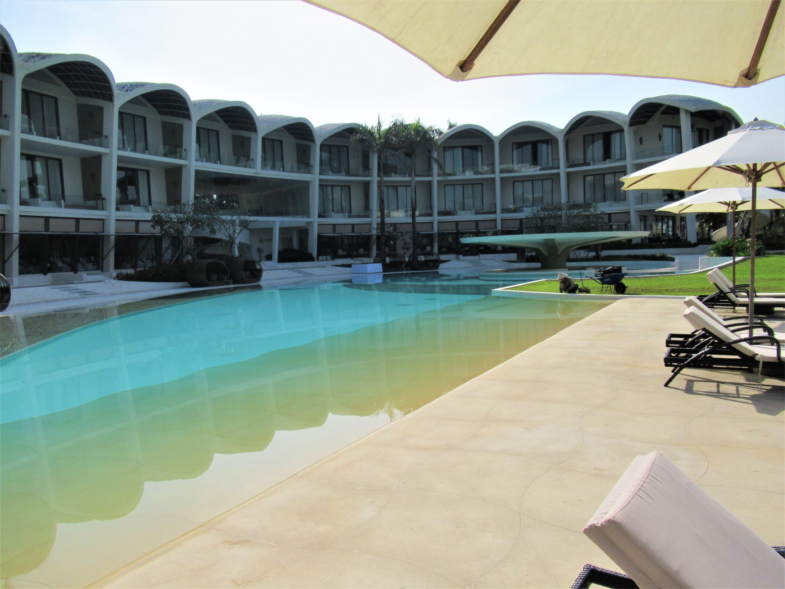 Main guest room structure, The Shells Resort, Phu Quoc Island, Vietnam