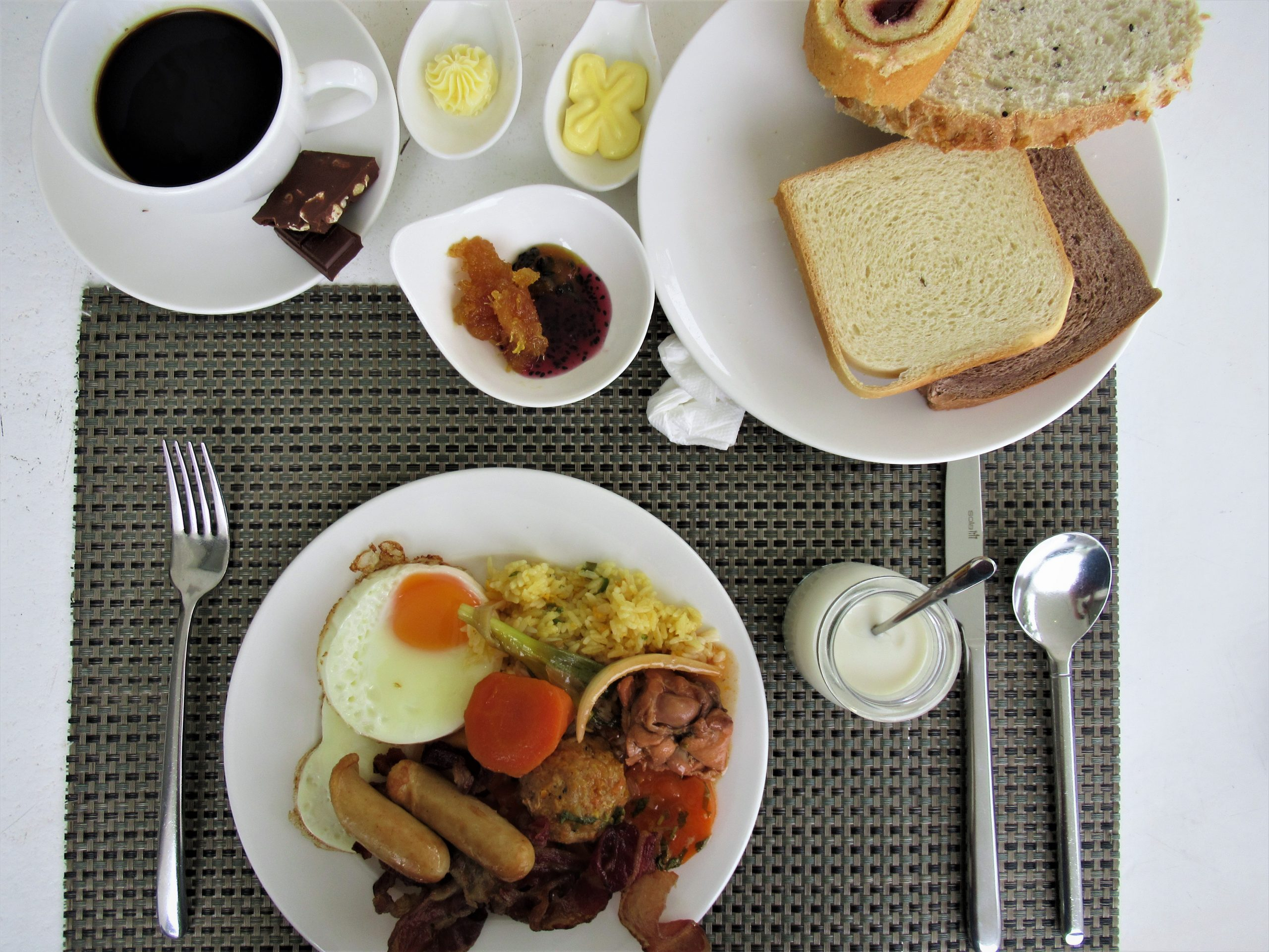 Buffet breakfast, The Shells Resort, Phu Quoc Island, Vietnam
