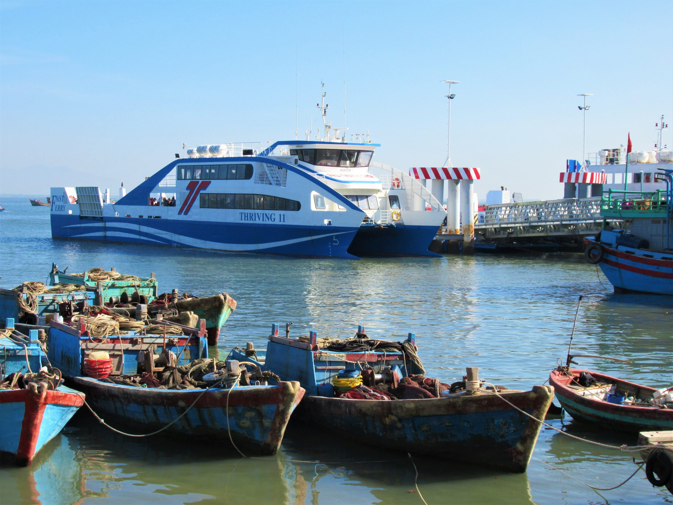 The New Can Gio-Vung Tau Car Ferry